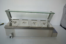 4 Pot 8 Deep Bain Marie Buffet Food Warmer Steam Table With 6deep Pan Us New