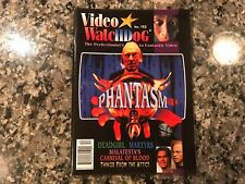 Video Watchdog 153! December 2009 Phantasm/Carnival Of Blood/Deadgirl