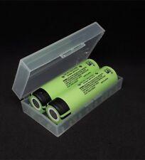2x Panasonic Akku NCR-18650B 3,7V 3400mAh mit Box für e Zigaretten Akkuträger