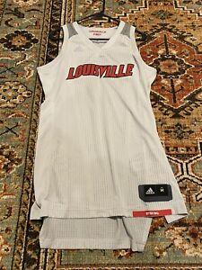 Adidas Louisville Cardinals Women's NCAA Authentic On-Court Pro Cut Jersey