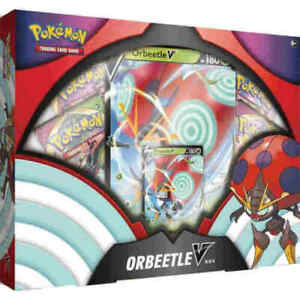 Pokemon TCG - Orbeetle V Collection Box - 4 Booster Packs