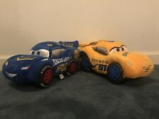 Disney Store Plush ~ Lightning McQueen & Cruz Ramirez Cars 3 ~ NWT