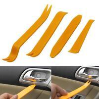 4stk/set Plastic Car Auto Radio Door Clip Panel Trim Dash Audio Removal Pry