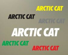 "(2) 8"" ARCTIC CAT decal vinyl sticker helmet bike motorcyle extreme ski ATV S610"