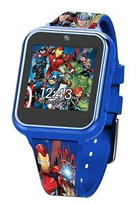 Marvel Avengers Digital Touchscreen Smart Watch with Silicone Strap