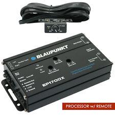 BLAUPUNKT EP1700X CAR AUDIO DIGITAL BASS RECONSTRUCTION PROCESSOR w/ REMOTE