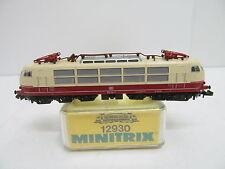 MES-45789Minitrix 12930 Spur N E-Lok DB 103 113-7 sehr guter Zustand,
