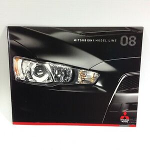 Mitsubishi USA 2008 Model Line Sales Brochure / Book