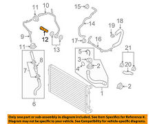 VW VOLKSWAGEN OEM 06-09 Jetta 2.0L-L4 Cooling-Water Inlet Pipe Bolt 06A145541J