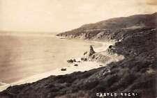 Patten Maine Castle Rock Real Photo Antique Postcard J60367