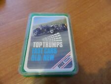 VINTAGE DUBREQ TOP TRUMPS CARD GAME- FAST CARS OLD/NEW