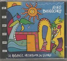 NINO BUONOCORE - La naturale incertezza del vivere - CD 1992 SIGILLATO SEALED