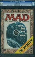 Mad # 26 US EC Magazine fumetti 1955 Kurtzman, wood cover & tipo CGC 5.0 VG-FN