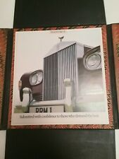 Rolls Royce Phantom VI Landaulete Prestige Hardback Brochure 1980 * Very Rare*