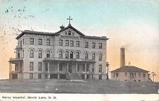 Devils Lake North Dakota~Mercy Hospital~2nd Empire, Italianate Architecture 1910