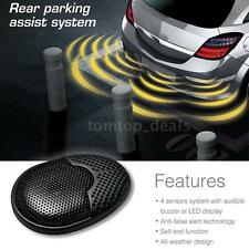 Steelmate Car Parking Assist Reverse Radar Alert System 4 Sensor Self-test O9Q2