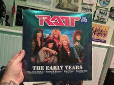 RATT - THE EARLY YEARS Blue Vinyl EP Tell the World Round & Round Body Talk