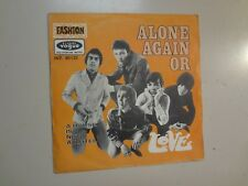 """LOVE:(w/Arthur Lee)Alone Again Or-A House Is Not A Motel-France 7"""" 68 Vogue PSL"""