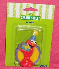 Elmo/Present Birthday Cake Candle,Bakery Crafts,Multi-Color,Party/Candle