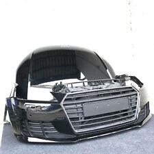 Original Audi TT 8S Front Motorhaube Kotflügel Stoßstange SRA 6xPDC Schwarz LY9B