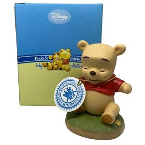 """Disney Pooh & Friends """" All Giggles & Smiles """" Baby  Pooh Figurine 4012900"""