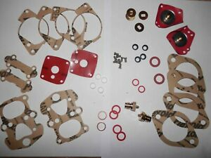 MERCEDES 190SL SOLEX 44 PHH CARBURETOR REBUILD KIT -ONE PAIR