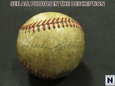 NobleSpirit } Exciting JACKIE ROBINSON SINGLE Signed Baseball!