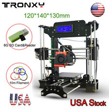 DIY Larger Size 120*140*130mm High Precision 3D Printer Reprap Prusa i3 Kit LCD