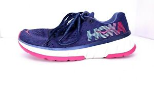 Hoka One One Women's Cavu Running Shoes Style 1019282 Color Purple Size 7
