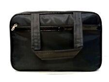 Cosmetic Bag - Plain Black Pattern (Gm-8-Tote)
