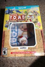Captain Toad: Treasure Tracker (Nintendo Wii U) Complete w/ Amiibo