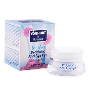 BioFresh YOGHURT OF BULGARIA Probiotic Anti Age Eye Concentrate Rose Oil 40ml