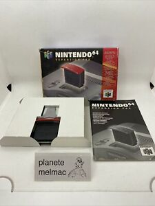 expansion pak nintendo 64 n64 n 64 en boite complet