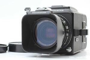 [Near MINT+++ w/ Hood] Hasselblad 500CM C/M Black w/ C 80mm f/2.8 + A12 II Japan