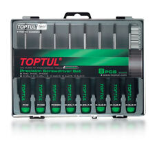 Toptul 8 Piece Precision Slotted & Phillips Screwdriver Set GAAW0802