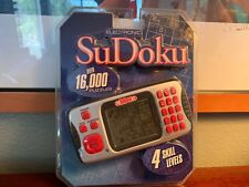 Excalibur Handheld Electronic Sudoku Brand New Factory Sealed 16000 Puzzles WOW