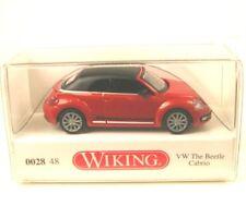 VW The Beetle Cabriolet (fermé) habanero orange métallique/noir