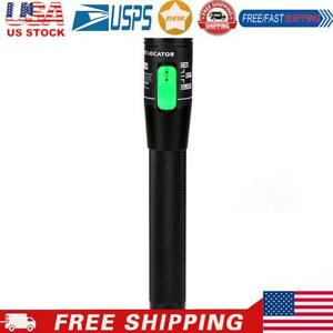 Visual Fault Locator,30mW 30km Red Light Pen Fiber Optic Cable Tester Meter