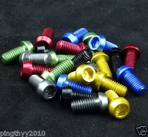 J&L Water Bottle Cage Bolts(0.6g*4pcs) for-Elite,Tacx,FSA,Tune,Lightweight
