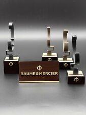 BAUME & MERCIER - Display Set für 4 Uhren - mit Logo-Display - Holz