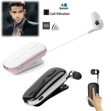 Wireless Bluetooth Headset Earphone with Clip for Samsung S10 S9 A20 A40 A50 A70