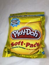 1 Package of Play-Doh Resealable bag with Shape Cutter  You Choose Color