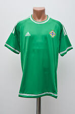 NORTHERN IRELAND 2014/2015/2016 HOME FOOTBALL SHIRT JERSEY MAGLIA ADIDAS