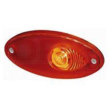 Contrassegno Lampada: 12 VOLT ROSSO OVALE CON LENTE ROSSA | HELLA 2XS 964 295-031