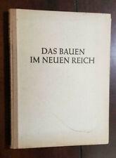 New listing Ww2 Wwii German Art Architecture book 1942 Das Bauen Im Neuen Reich