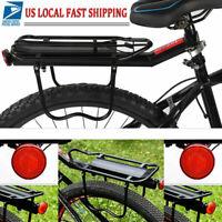Mountain Bike Bicycle Rear Seat Luggage Shelf Rack Carrier Aluminum Cycling New