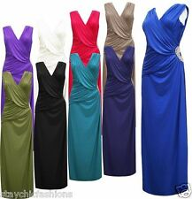 Elegant Maxi Bridesmaid Prom Party Women Wedding Luxury Gown Cocktail Dress Long
