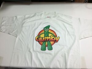 Vintage 1980s GUMBY T Shirt NEW Large