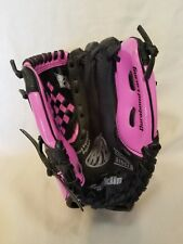 "Franklin Rtp Series Right Handed Baseball Glove 4612511-9 1/2"" Girl Youth Pink"
