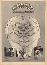 Papa John Creach Jefferson Airplane Bark Kantner LP advert Time Out cutting 1972